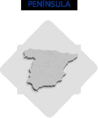 Consulta los datos de nuestras delegaciones en Península.